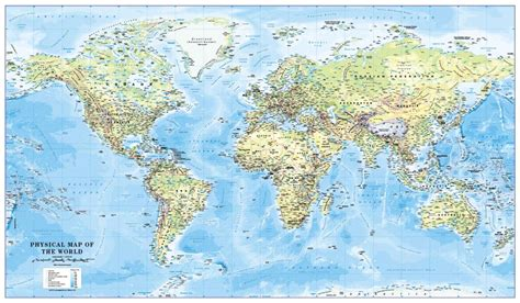 extra large printable world map personalised world physical map large