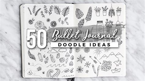 doodle draw journal an journaling workbook 50 bullet journal doodle ideas the ultimate guide
