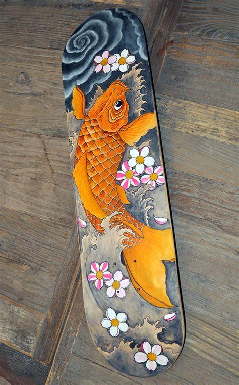 Handmade Skateboards - custom skateboards on behance