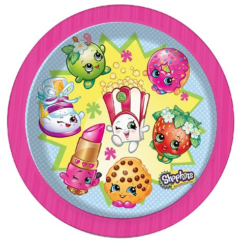 Decorating With Wooden Boxes Shopkins Party Plates Shopkins Party Supplies Party Ark