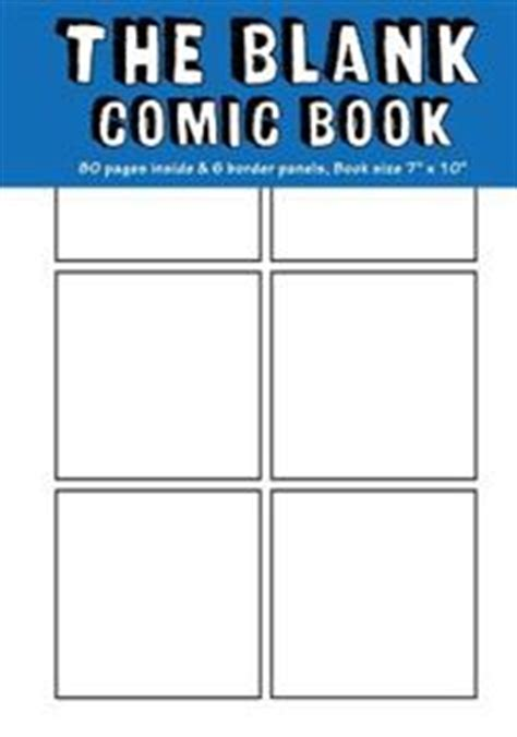 blank comic book draw your own comics a large notebook and sketchbook for and adults to draw comics and journal books blank comic book 7x10 80 pages blank comic strips