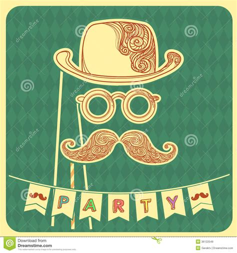 moustache stock images royalty free images vectors moustache background with text stock vector image 36122549