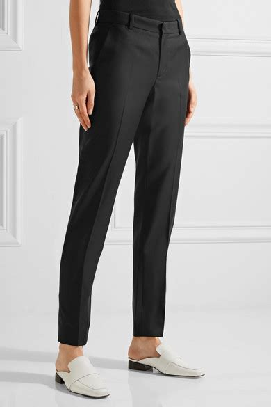 Trousers 100 At The Net A Porter Sale by Joseph Kong 100 Wool Twill Slim Leg Net A