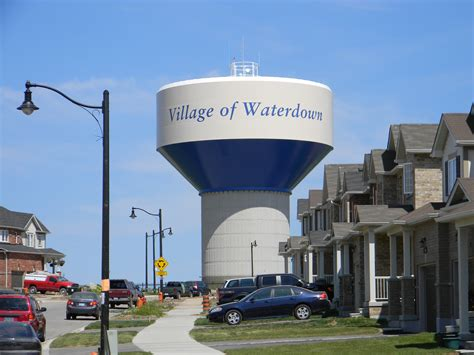 Ontario Canada Search File 11watertower In Waterdown Ontario Canada Jpg Wikimedia Commons
