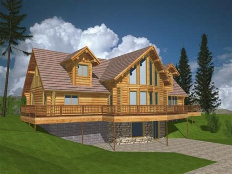 Modern Log Home Plans by Log House Plans With Loft Log Home Plans And Designs