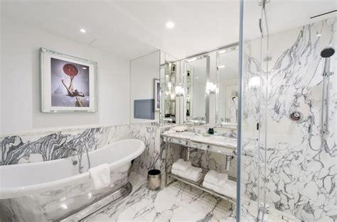 clean bedroom wellesley one bedroom suite bathroom at the wellesley hotel in