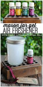 Air Fresheners Made With Essential Oils Diy Jar Gel Air Fresheners