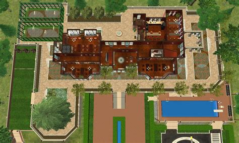 x mansion floor plan mod the sims x men mansion charles xavier s school for