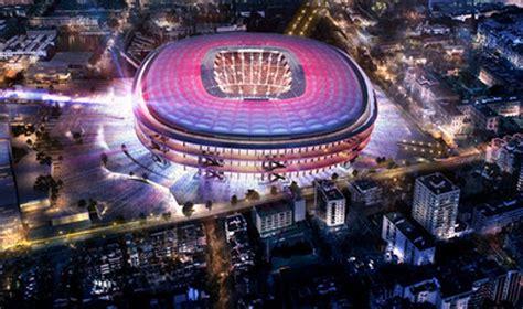 Barça: les premières images du nouveau Camp Nou