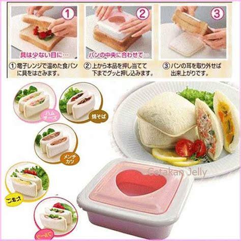 Cetakan Bento Roti cetakan roti bento box bread sandwich mould cetakan