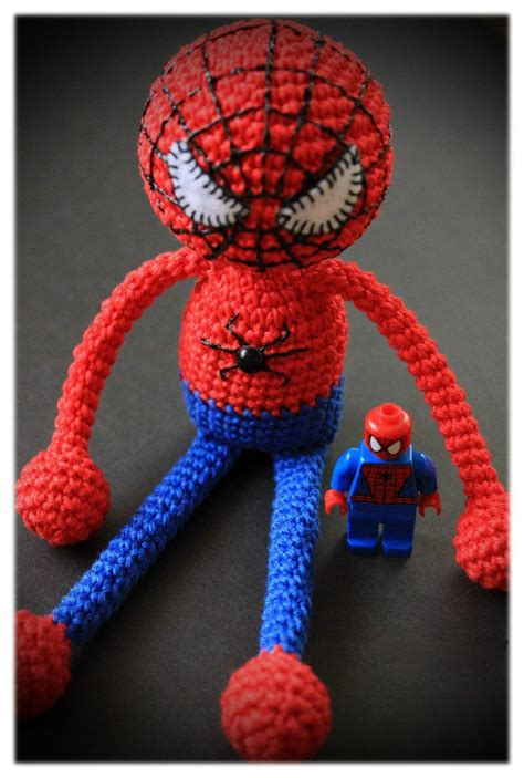 spiderman plush pattern amigurumi spiderman crochet pattern spiderman photos