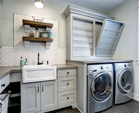laundry room with sink best 25 farmhouse laundry rooms ideas on