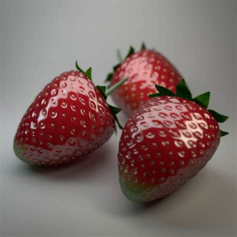 3d 3 Strawberry create strawberries in blender by filippo veniero ifilgood page 1 of 5 blender gimp