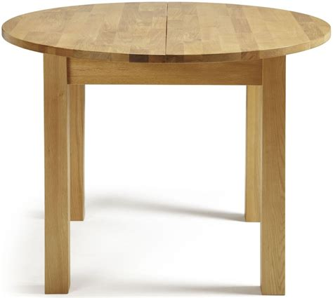 serene sutton oak dining table extending serene
