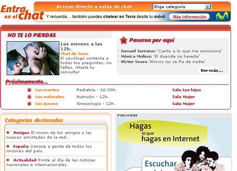 www chat terra sala mas de 40 salas de chat terra video search engine at search