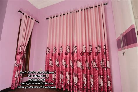 Gorden Blackout Hello jual gorden hello murah bahan blackout berkualitas