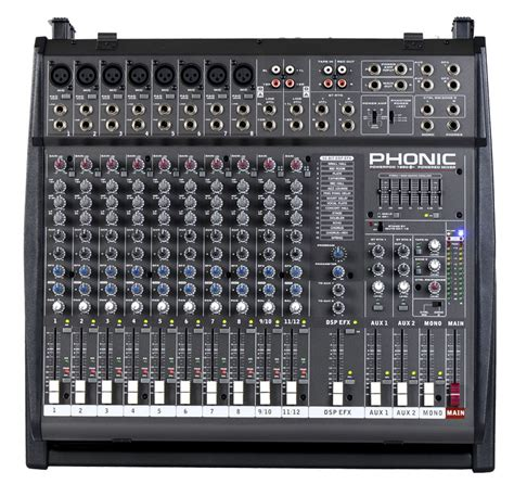 Harga Power Mixer Yamaha 12 Channel powerpod 1860 plus 800w 12 channel powered mixer with