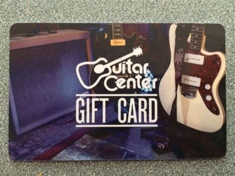 Guitar Center Gift Card - bespoke gift cards free graphic designers agencies harry bugg
