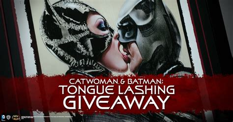 Printed Giveaways - catwoman batman art print giveaway sideshow collectibles