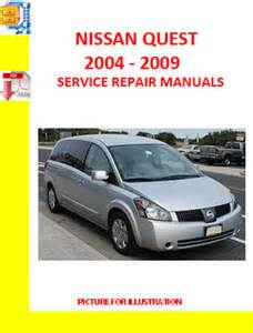 service manual 2004 nissan quest workshop manual download free 2004 nissan quest workshop