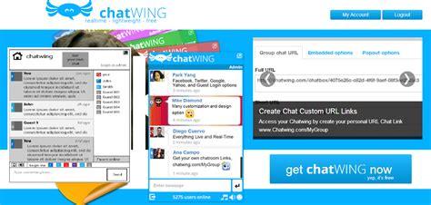 Live Chat Room Mobile - chatwing introduces reliable android chat app for mobile users
