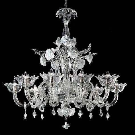 murano kronleuchter biancaneve chandelier murano glass chandeliers