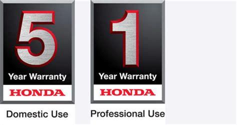 your honda warranty owners industrial honda