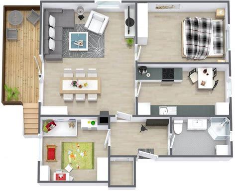 1bhk Floor Plan by Planta Baixa O Guia Completo Arquidicas
