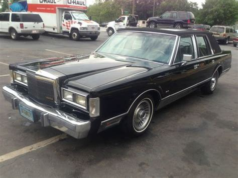 Car Lawyer In - sell used 1989 lincoln town car quot the lincoln lawyer quot in