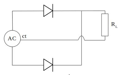 two diode wave rectifier wave rectifier circuit electrostudy