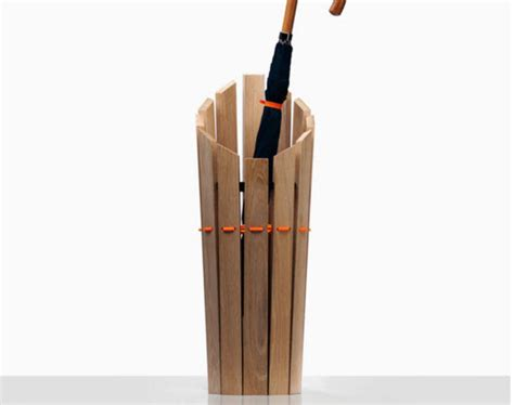 Umbrella Rack by Undercover Oak Umbrella Stand By Method Studio