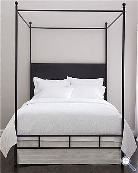 simple metal headboard simple metal canopy bed bedrooms pinterest