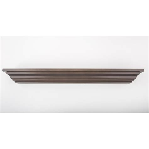 decorative crown moulding home depot 24 in l x 5 in d floating grey crown molding decorative ledge shelf 452 25 the home depot