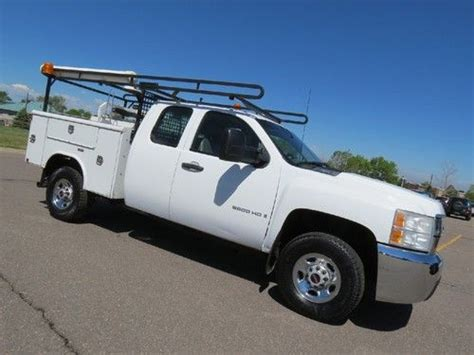 automobile air conditioning service 2007 chevrolet silverado security system buy used 2007 chevrolet silverado 2500 hd extended cab service work utility body bed 4x4 in