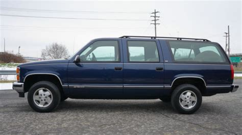 how to sell used cars 1993 chevrolet suburban 2500 on board diagnostic system 1993 chevrolet chevy suburban 1500 4x4 silverado package time capsule 60k miles classic