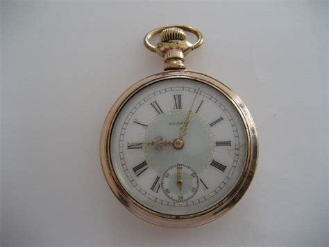elgin pocket with fancy collectors weekly