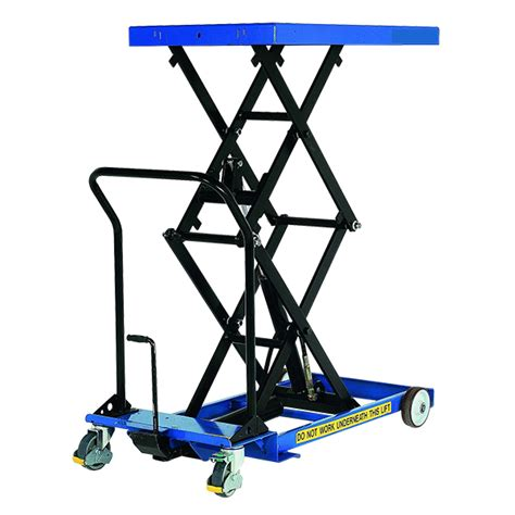 Scissor Table by Hydraulic Lifting Table 450kg Mobile Scissor Tables Uk