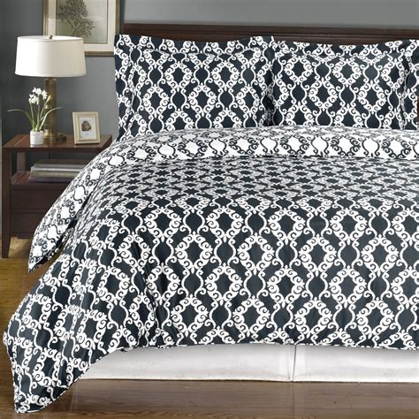 sierra navy and white reversible twin xl cotton comforter
