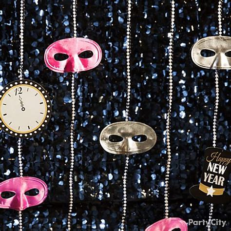 new year decorations at city new year s masquerade ideas city