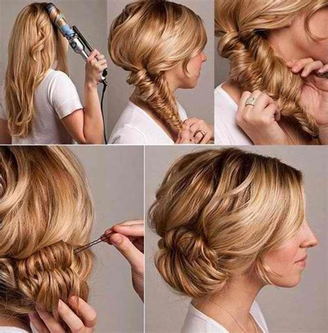 quick and easy hairstyle tutorials 17 quick and easy diy hairstyle tutorials