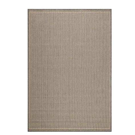 home depot indoor outdoor rug home decorators collection saddlestitch grey chagne 8 ft 6 in x 13 ft indoor outdoor area