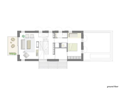 floor plan of modern family house three story single family modern house design with