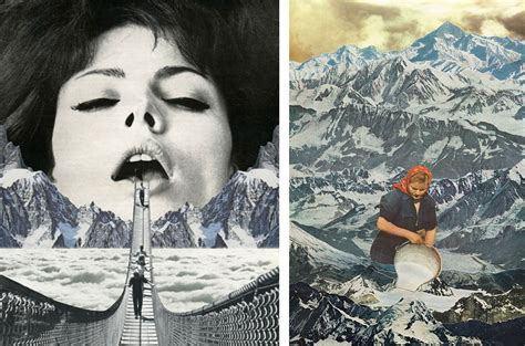 contemporary collage artists mind blowing contemporary surrealist collage artists