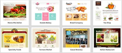godaddy ecommerce templates godaddy website builder templates for a stunning website