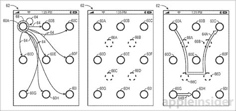 pattern unlock system apple trying to patent gesture unlock method that s