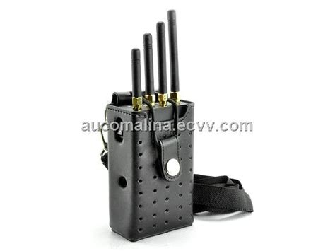 portable gsm 3g wifi cell phone signal jammer blocker