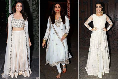 celebrity style dresses india bollywood celebrity style wear white this wedding season