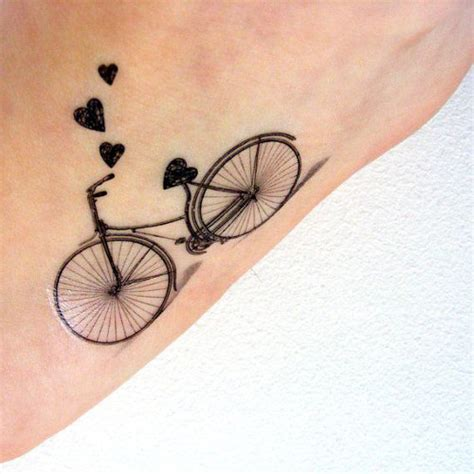 bicycle tattoos turning cycling into body art total
