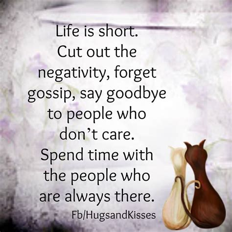 negative gossip meaning life is short cut out the negativity pictures photos and