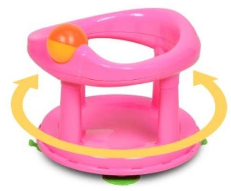 safety first bathtub ring safety 1st swivel baby bath tub ring seat babies bath chair pink ebay